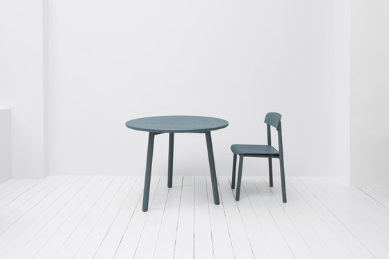 profile table round 94 by stattmann neue moebel dining tables