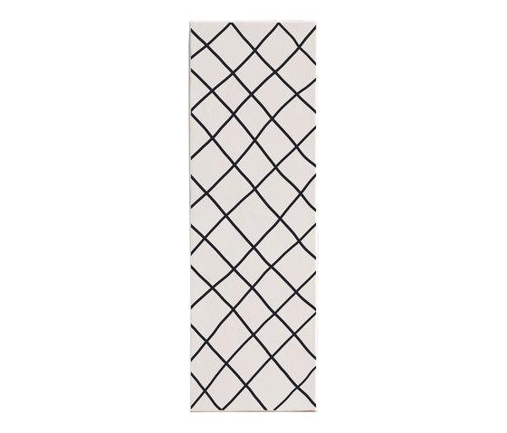 Mix and Match Decori in Bianco e Nero | MAM1545DBN by Ornamenta | Ceramic tiles