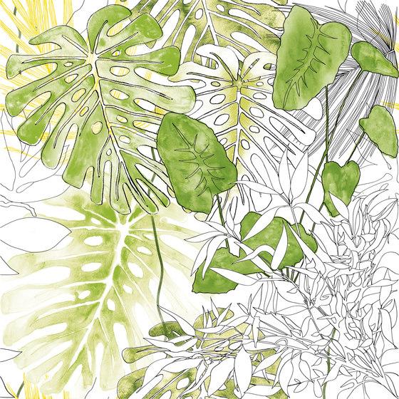 Jungle animaliér Flora Equatoriale | JU6060FL by Ornamenta | Ceramic tiles
