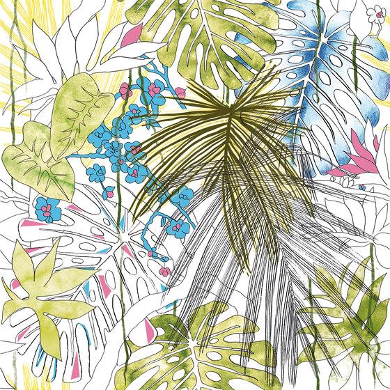 Jungle animaliér Flora Equatoriale Aggressive   JU6060FLA von Ornamenta   Keramik Fliesen