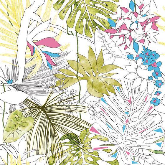 Jungle animaliér Flora Equatoriale Aggressive | JU6060FLA di Ornamenta | Piastrelle ceramica