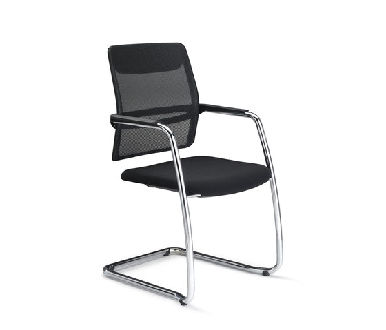 Slat4C by Dynamobel | Visitors chairs / Side chairs
