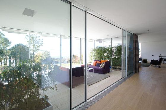 Sky-Frame 1 sliding window by Sky-Frame | Noise absorbing glass