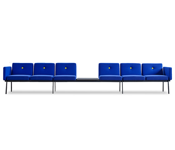 System furniture for waiting roomsEJ 2100 von Erik Jørgensen | Sitzbänke