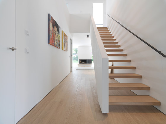 STAIRs Oak white by Admonter Holzindustrie AG | Staircase systems
