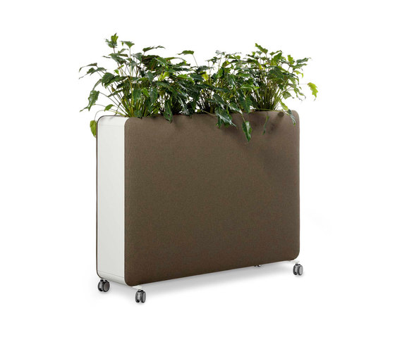 Pillow Space planter by Cascando | Space dividers