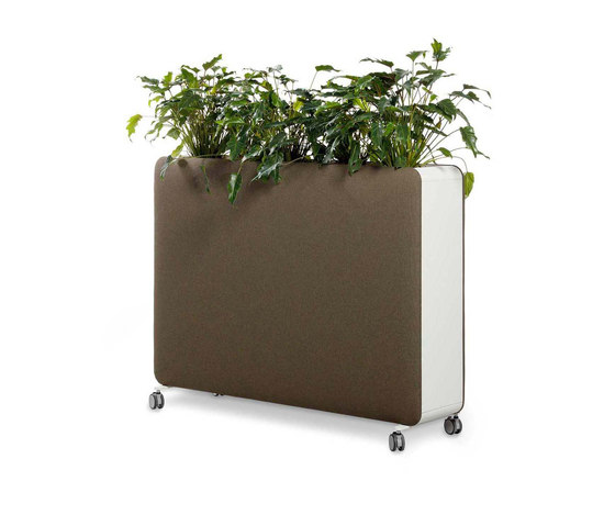 Pillow Space planter by Cascando | Privacy screen