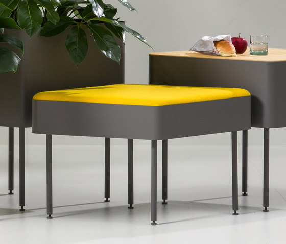 Rombo seating by Cascando | Ottomans