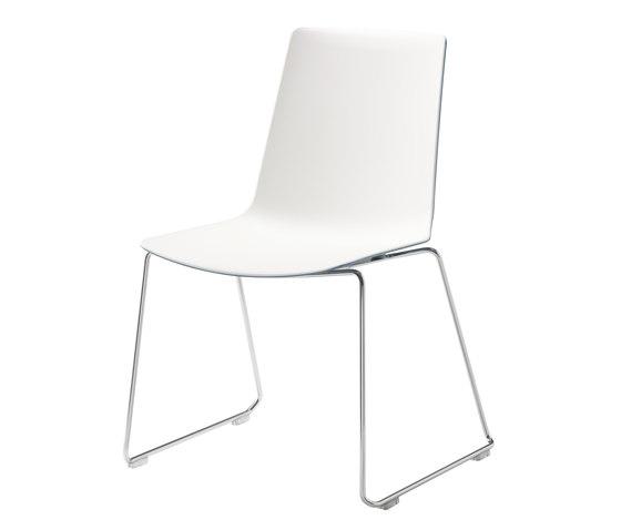 nooi sled base chair de Wiesner-Hager | Sillas