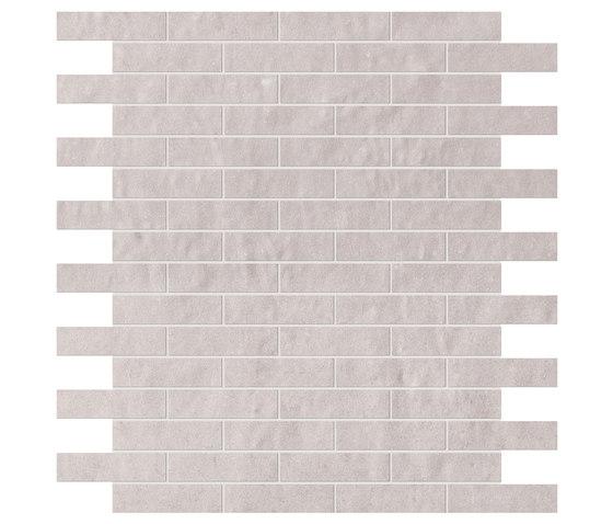 Creta Perla Brick Mosaico di Fap Ceramiche | Mosaici