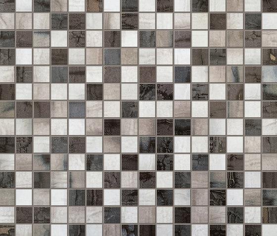 Creta Madreperla Mosaico von Fap Ceramiche   Keramik Mosaike