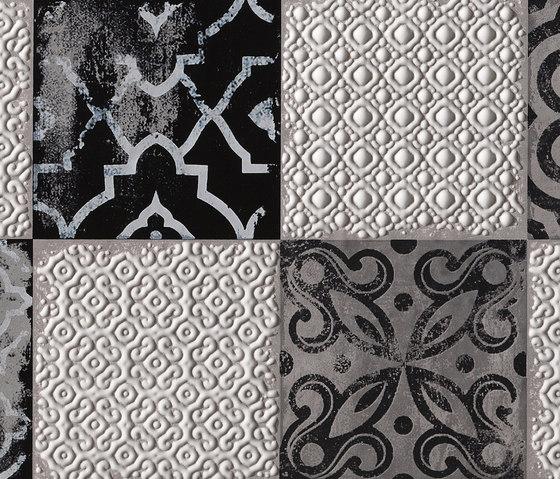 Creta Maiolica Grey Inserto von Fap Ceramiche   Keramik Fliesen