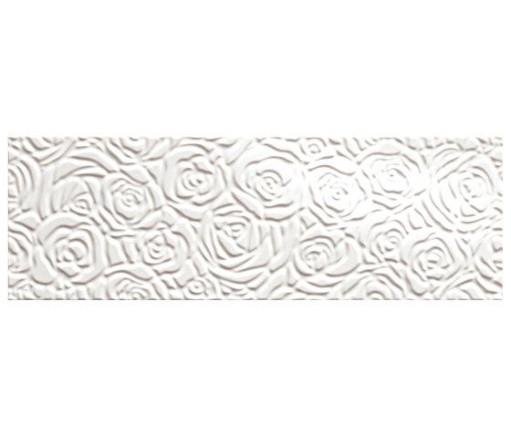 Lumina Sole Rose Bianco Gloss 25x75 de Fap Ceramiche | Carrelage céramique