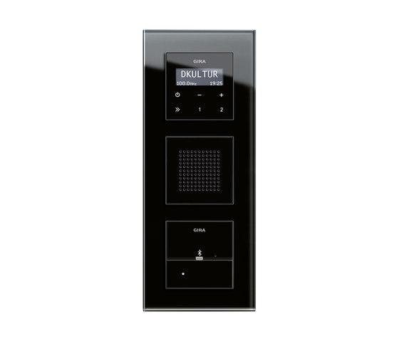 RDS flush-mounted radio and Docking station | Esprit di Gira | Sistemi radio