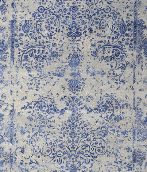 Kashmir Blazed Dark Blue 4739 by THIBAULT VAN RENNE | Rugs