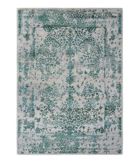 Kashmir Blazed mint green 4739 by THIBAULT VAN RENNE | Rugs