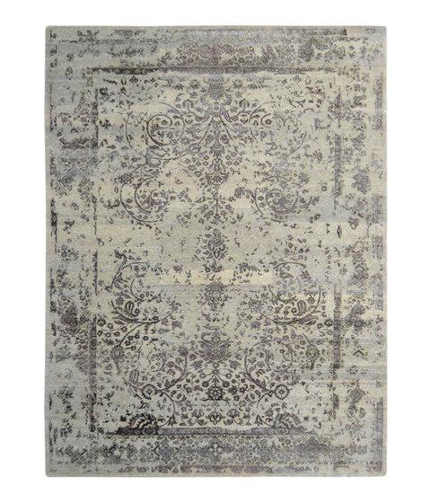 Kashmir Blazed Silver 4739 by THIBAULT VAN RENNE | Rugs