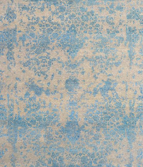 Kashmir Blazed Aqua blue 4809 by THIBAULT VAN RENNE | Rugs