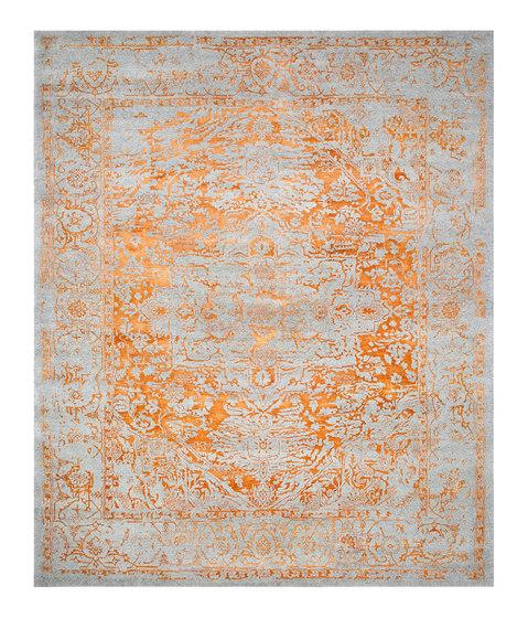 Kashmir Blazed Fast Orange range 4840 by THIBAULT VAN RENNE | Rugs