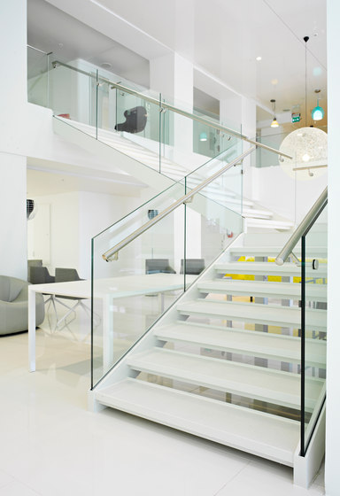 SP200 staircase system by Steelpro | Staircase systems