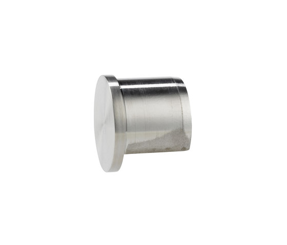 Stainless steel 42 groove end cap by Steelpro | Handrails