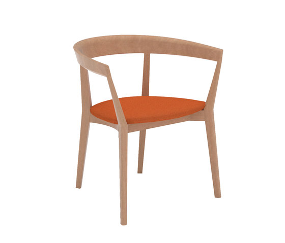 Carola SO 0908 de Andreu World | Chaises de restaurant