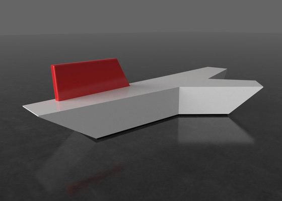 Pause P 110X + backrest von AMOS DESIGN | Sofas
