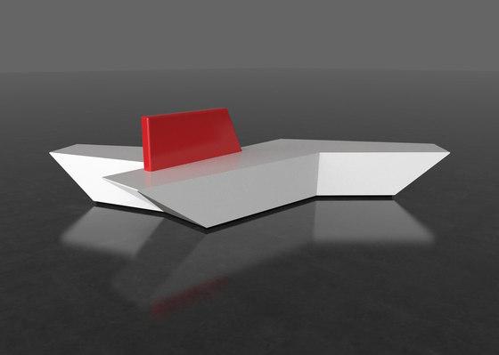 Pause P 113X + backrest von AMOS DESIGN | Sofas