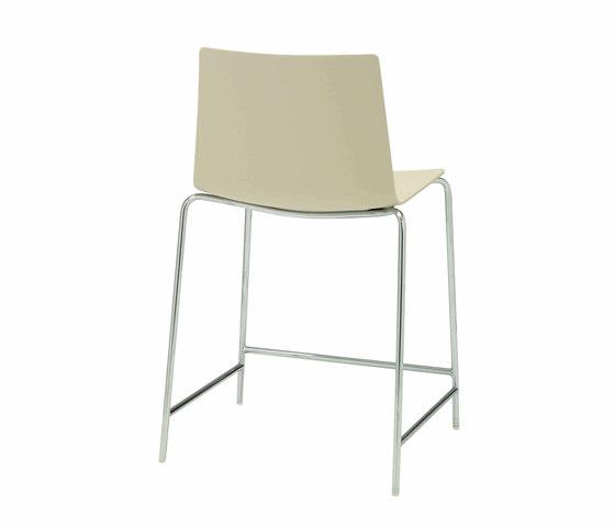Flex Chair BQ 1309 de Andreu World | Taburetes de bar