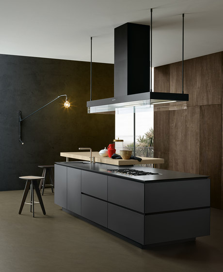 Artex by Poliform | Island kitchens