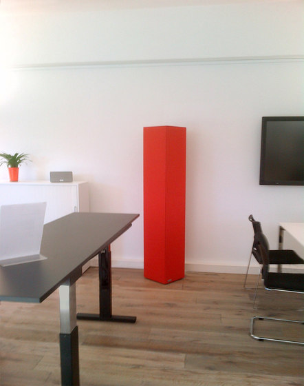Sound Butler tcolumn TS35 red by Phoneon | Sound absorbing objects