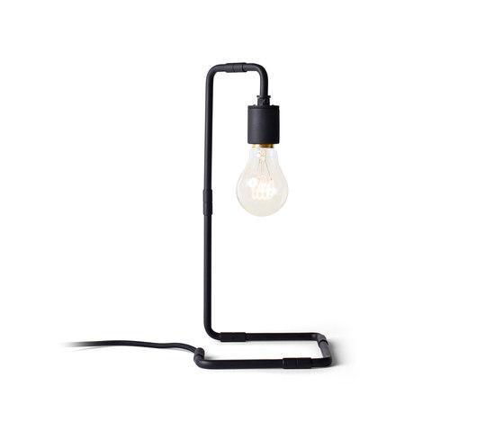 Tribeca Series   Reade Table Lamp Black by MENU   Table lights