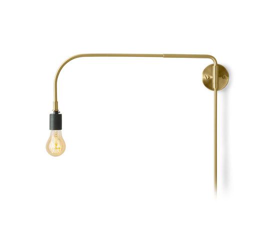 Tribeca Series | Warren Wall Lamp Brass by MENU | Wall lights