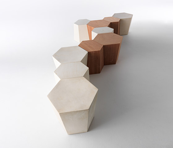 Hexagon stool by CASAMANIA & HORM | Bath stools / benches