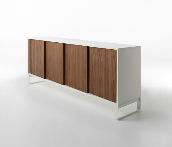 Oblique open base by CASAMANIA-HORM.IT | Sideboards