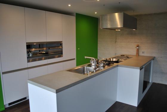 Concrete Kitchen | Design Example de Dade Design AG concrete works Beton | Encimeras