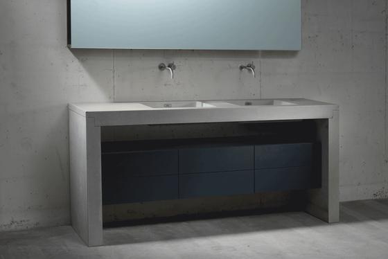 Concrete Washbasins | Design Example by Dade Design AG concrete works Beton | Wash basins