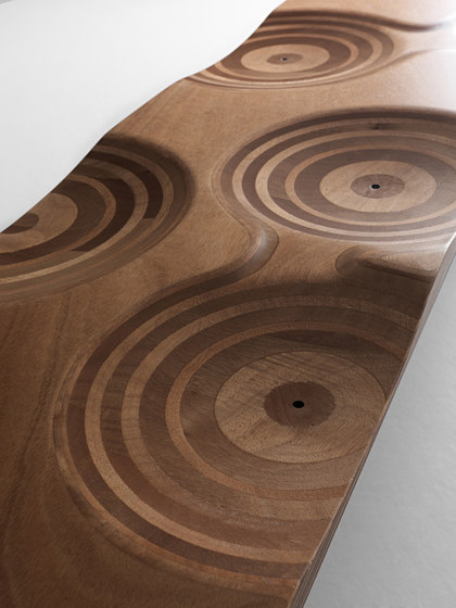 Ripples bench outdoor by CASAMANIA & HORM | Benches