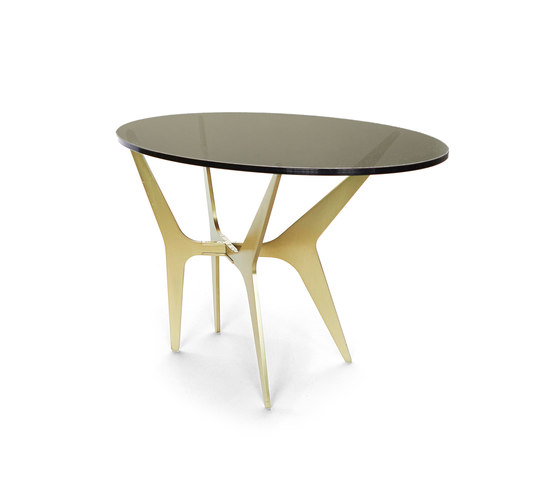 DEAN Oval Side Table de Gabriel Scott | Mesas auxiliares