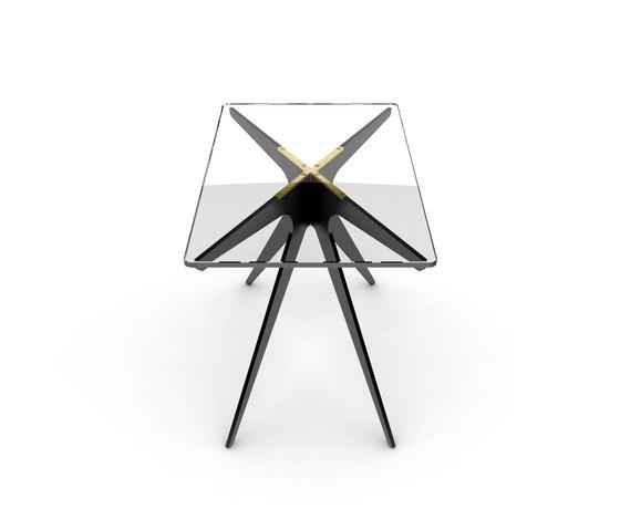 DEAN Rectangular Side Table di Gabriel Scott | Tavolini alti