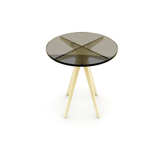 DEAN Round Side Table de Gabriel Scott | Mesas auxiliares