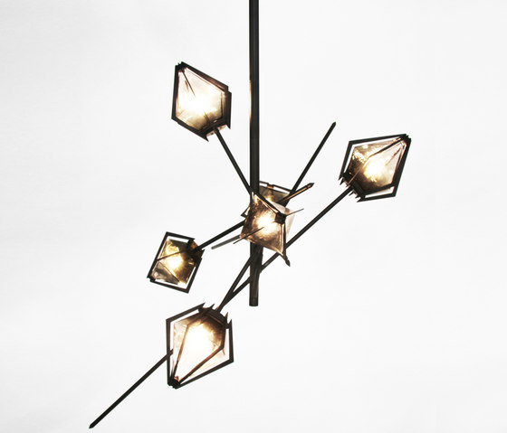 HARLOW Small Chandelier de Gabriel Scott | Suspensions