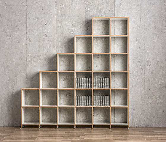 Classic shelf-system by mocoba | Office shelving systems