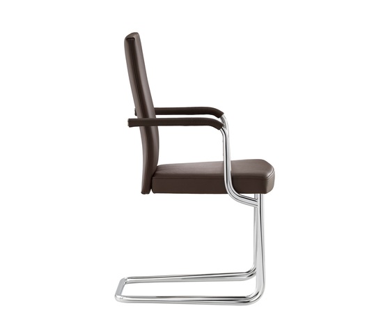 D21P Upholstered cantilever chair by TECTA | Visitors chairs / Side chairs