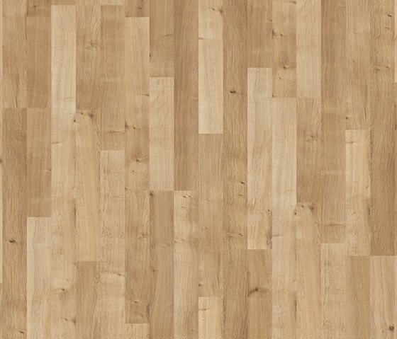 Classic Plank Solid Oak 3 Strip Laminate Flooring From