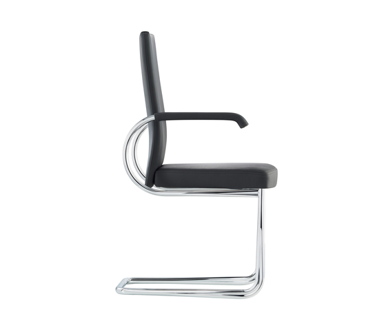 D22P Upholstered cantilever chair by TECTA | Visitors chairs / Side chairs