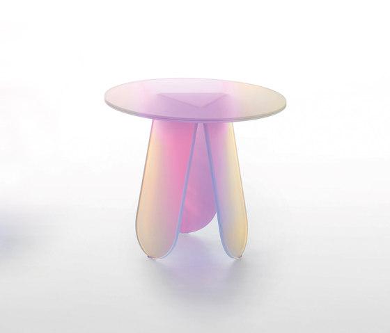 Shimmer tavolini von Glas Italia   Beistelltische