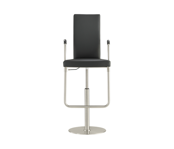 D32PE Upholstered bar chair by TECTA | Bar stools