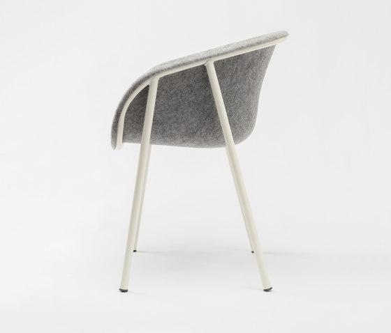 LJ 1 Arm Chair de De Vorm | Chaises de restaurant