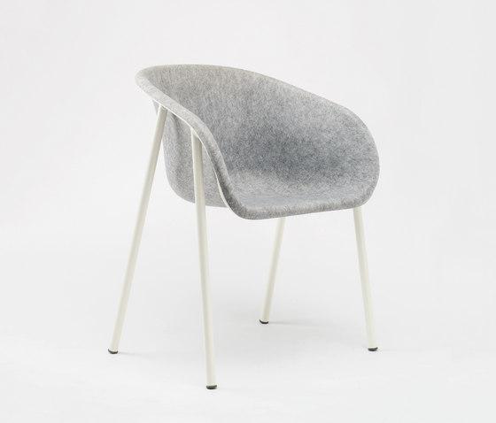 LJ 1 Arm Chair di De Vorm | Sedie ristorante